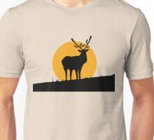 Gun Deer Unisex T-Shirt