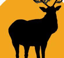 Gun Deer Sticker