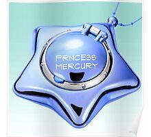 princess mercury sailor mercury star locket Poster