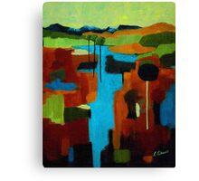 Lollipop Tree River Canvas Print
