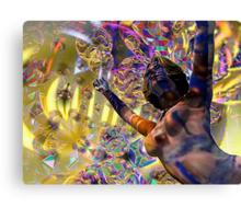 Journey Through the Vortex - 3D art Canvas Print