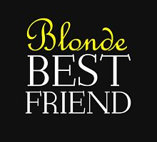 BLONDE BEST FRIEND Womens Fitted T-Shirt