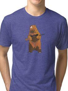 GunBear Tri-blend T-Shirt