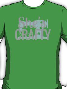 She's Crafty Beastie Boys Vintage Design T-Shirt