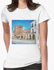 Caceres I Womens Fitted T-Shirt