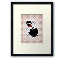 Tam cat Framed Print