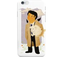 Castiel - Rounding Up the Stray iPhone Case/Skin