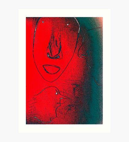 Fire Struck Art Print