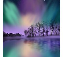 """""""dawn of the north"""" - The Northern Lights  Photographic Print"""