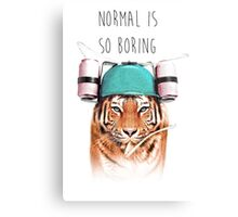 Swaggy Tiger Canvas Print