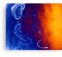 Psychic Social Experiments Canvas Print