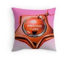 princess mars sailor mars star locket Throw Pillow