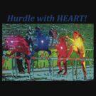 Power Hurdlers T-shirt by CXCBEAR