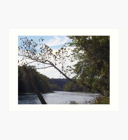 Branson River Art Print