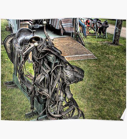 Old Saddles Never Die.. ( Just Like Old Cowboys ) Poster