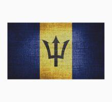Barbados Flag Kids Tee