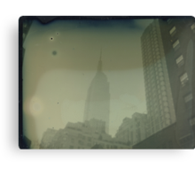 ESB Tintype Photograph Canvas Print