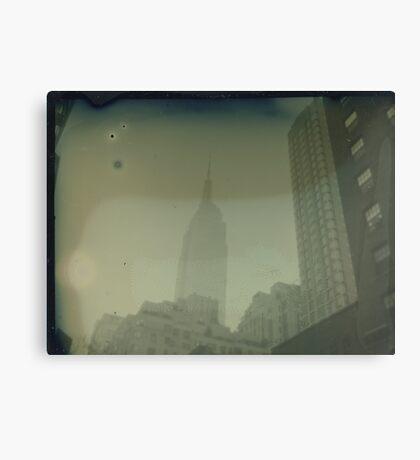 ESB Dry Plate Tintype Photograph Canvas Print