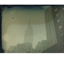 ESB Dry Plate Tintype Photograph Photographic Print