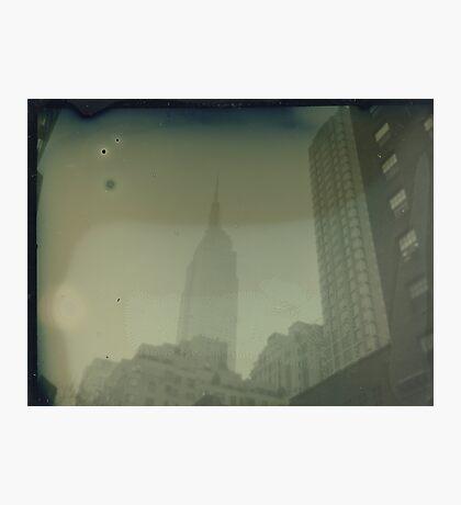 ESB Dry Plate Tintype Photograph Photographic Print