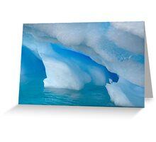 iceberg blues Greeting Card
