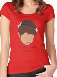 Rest in Beats Women's Fitted Scoop T-Shirt