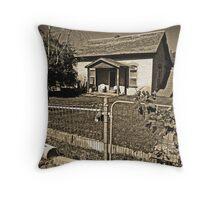 Little House on Arrowhead Trail Throw Pillow