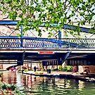 San Antonio TX - Bridge on Paseo Del Rio by Susan Savad