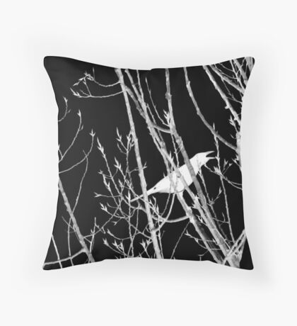 The Cry Throw Pillow