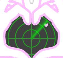 Love Radar Sticker