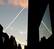 Sky View Reflections by Vanessa  Warren