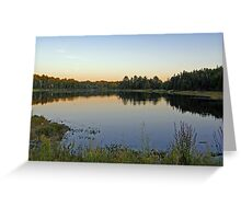 Northern Ontario Colors Greeting Card
