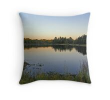 Northern Ontario Colors Throw Pillow