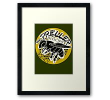 Preller Detective Agency Framed Print