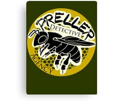 Preller Detective Agency Canvas Print