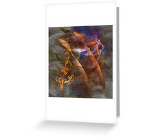 Strong Desire (Square Version) - By John Robert Beck Greeting Card