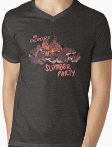 Slumber Party Mens V-Neck T-Shirt