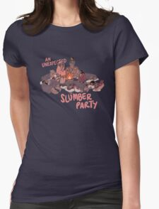 Slumber Party Womens Fitted T-Shirt