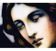 Angel - Stained Glass - Portrait Photographic Print