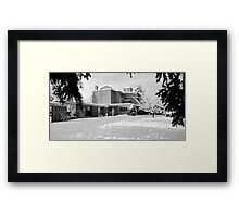St. John's Shaughnessy, Vancouver in Snow Framed Print