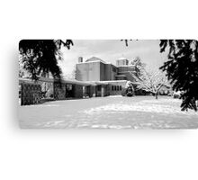 St. John's Shaughnessy, Vancouver in Snow Canvas Print