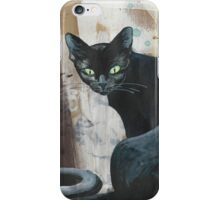 caught in the middle iPhone Case/Skin