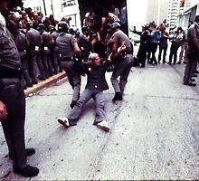 Anti War demonstration, Miami Beach, Fla, 1972 by danielgomez