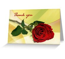 Thank you... Greeting Card