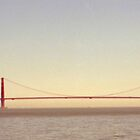 Golden Gate Bridge Angel Island View by tomoenk6