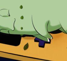 Sleeping Chikorita  Sticker