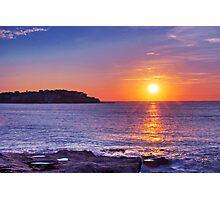 Sunrise over Bondi Beach Photographic Print