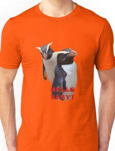 HELLO BABY - PENGUINS    TEE Unisex T-Shirt