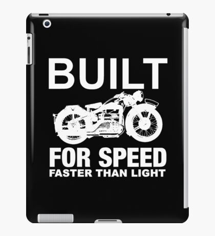 FASTER THAN LIGHT-2 iPad Case/Skin