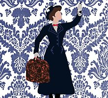 Mary Poppins by ChandlerLasch